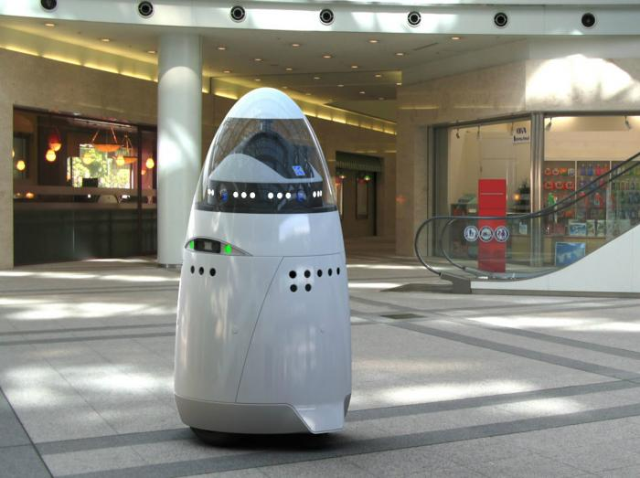 The K5 is on patrol in a mall in Palo Alto, and will continue to roll out as the world