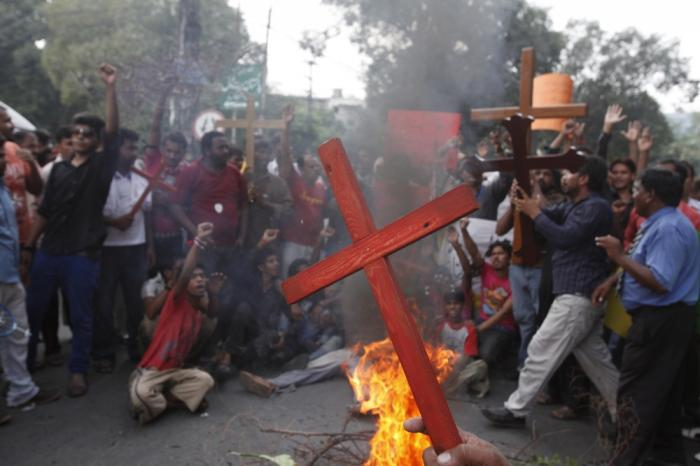 Muslim extremists attack Christians - especially family members who convert to Christianity.