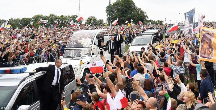 PopeMobile in Poland