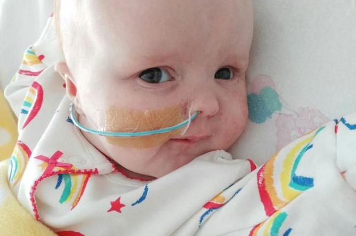 Caitlin Dooley was born on May 12, and has spent most of her time in an ICU suffering from a heart condition.