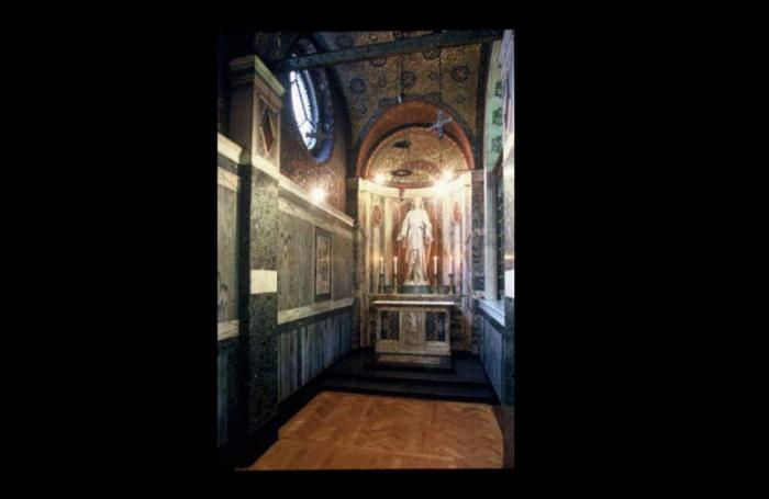 Chapel of the Sacred Heart and St Michael in Westminster Cathedral, UK.