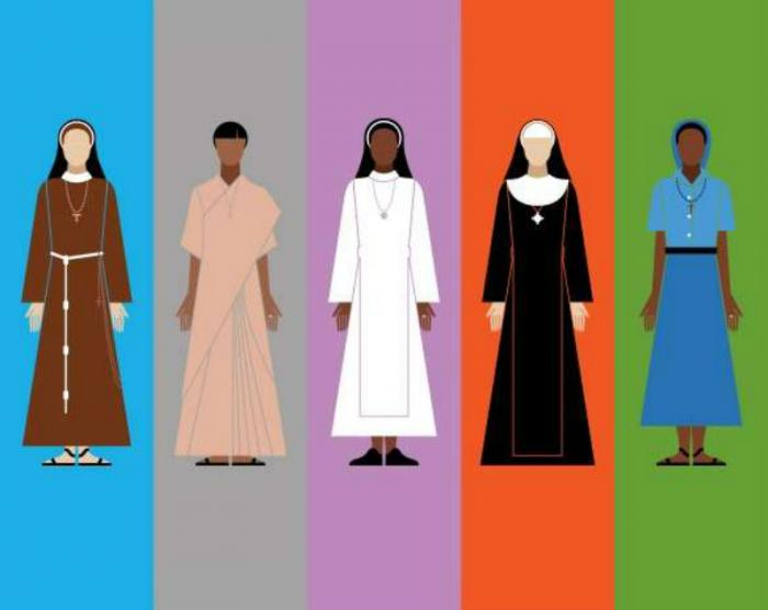 """An illustration from """"Looking Good: a visual guide to the nuns"""