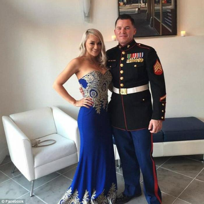 Officer Reagan Selman is a veteran of the Marine Corps and served a tour in Afghanistan.