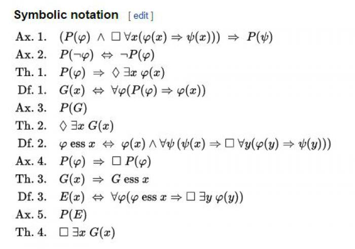 Godel's Theorem.