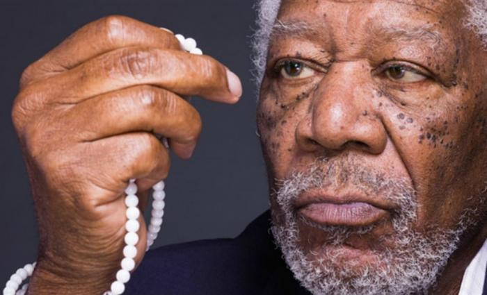 Morgan Freeman researches faith.
