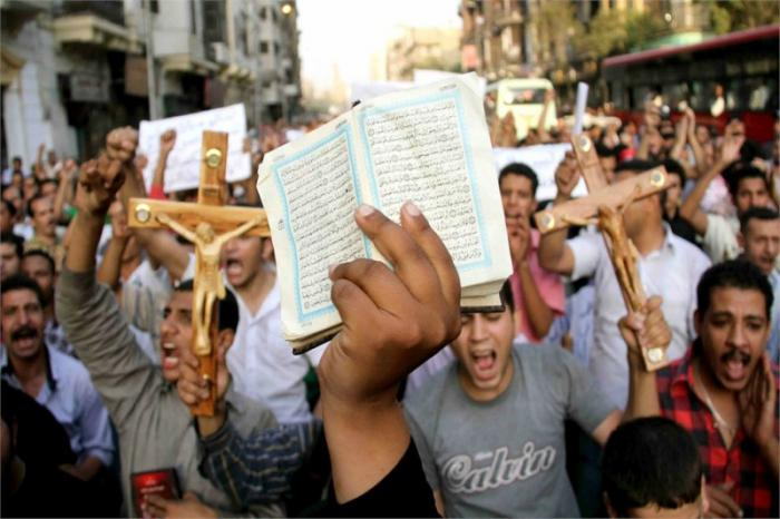 Egypt's Christian fight for safety.