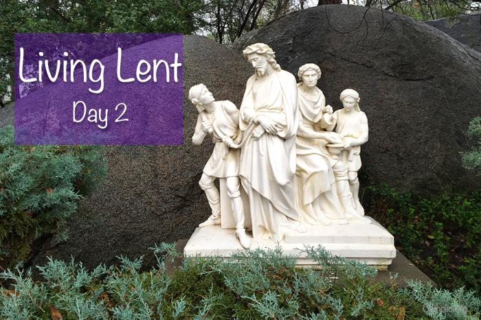'Living Lent' Series for Thursday after Ash Wednesday