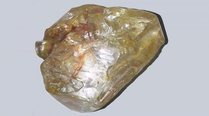 The 706-carat diamond.