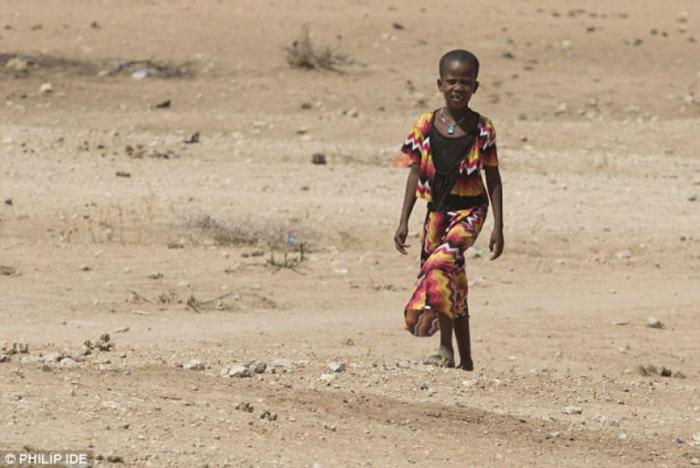Kenya is starving.