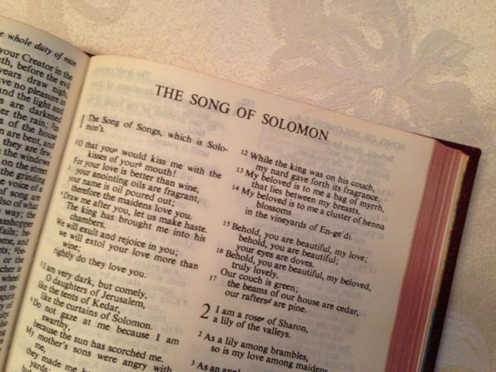 The Song of Solomon.