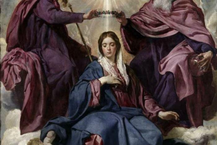 Mary, Queen of Heaven.