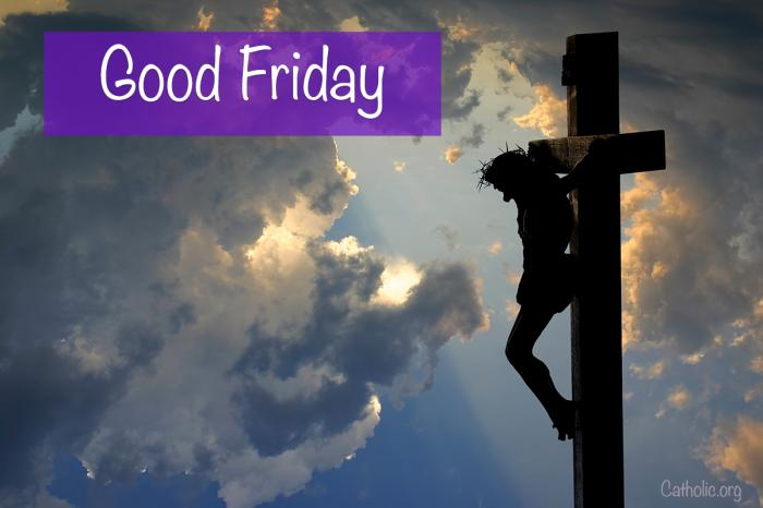 'Living Lent': Good Friday