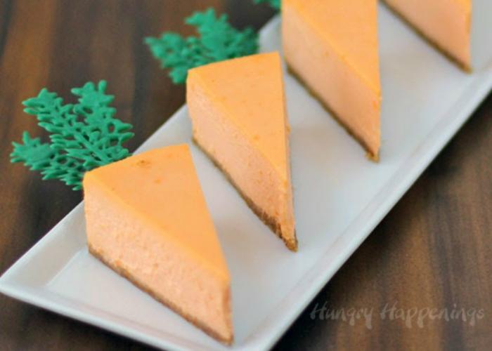 Orange Cheesecake Carrots.