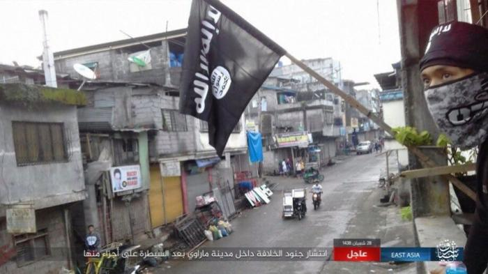 The terrorists who have captured Marawi are affiliated with ISIS.