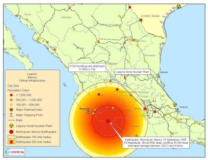 Last night, an 8.0 quake rattled Mexico, killing dozens. The temblor was felt as far away as Austin Texas, and may be the most powerful quake to strike Mexico in a century.