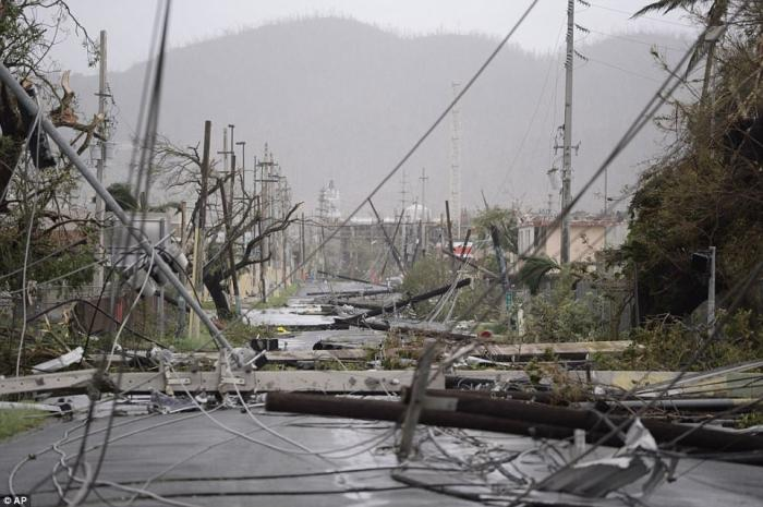 Destroyed infrastructure means Puerto Rico will be months without power.