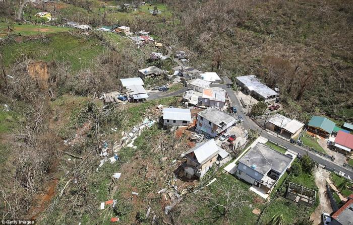 The island remains devastated. People have not been able to start the repairs on their homes because they lack supplies. Most are focused on immediate survival.