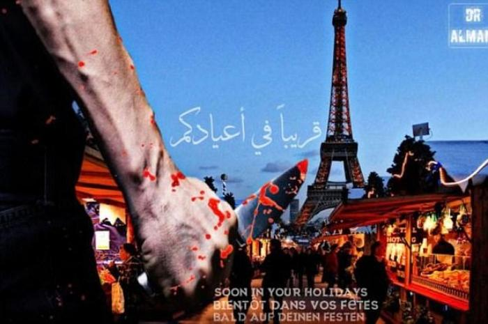 Islamic State in Paris Christmas