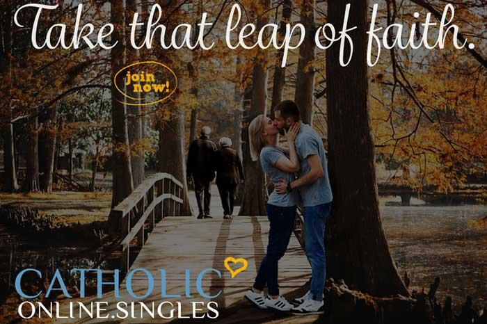 Catholic Online Singles: Take the Leap of Faith