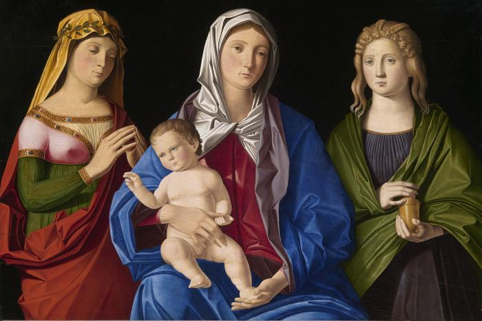 Catena, Virgin and Child with Saint Mary Magdalene and Another Female Saint