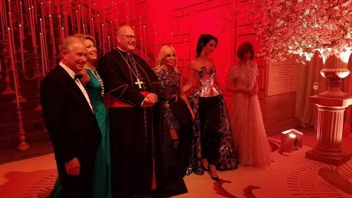 Cardinal Dolan was in attendance.