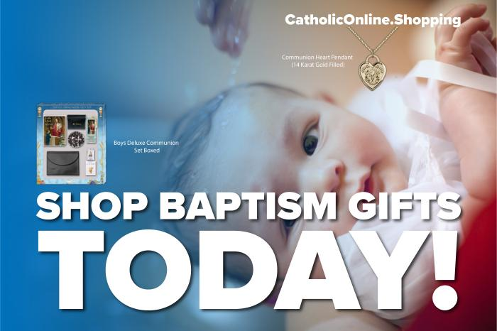 Baptism - 20% Off Homepage Carousel