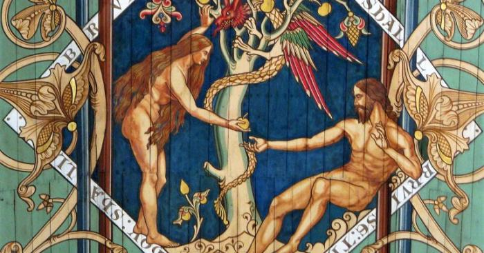 Adam and Eve were perfect in equality, and equal in dignity, but different in special ways. Each one complimented the other. Together, in communion, they formed one flesh able to transmit life to their descendants.