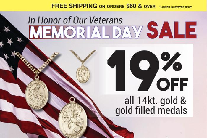 Memorial Day Sale 2019 - 19% Off - May Sale