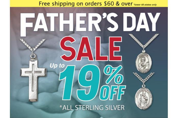 CS - June 2019 - 19% off Sterling Silver for Fathers Day