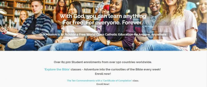 Catholic Online School is on a mission to provide a free, world-class Catholic education to anyone, anywhere.
