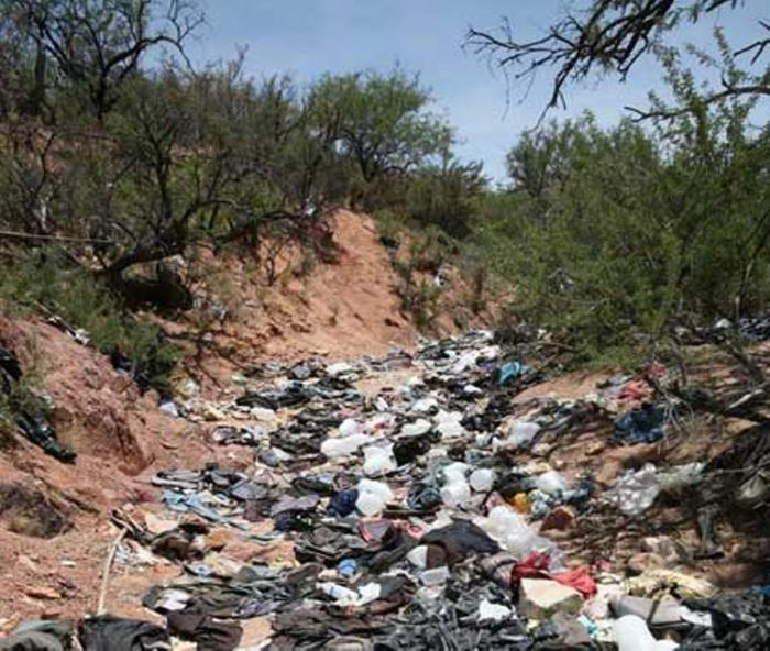 Trash deposited in rivers will be swept up in the next monsoon rain, which usually occurs in late summer.