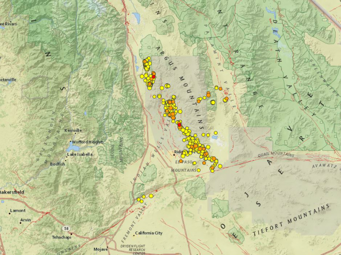 The aftershock pattern is troubling scientists as the quakes migrate towards two major faults.