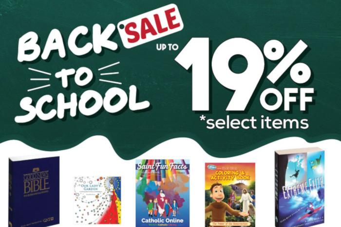 Catholic Online Shopping - August 2019- 19%Off - Back to School