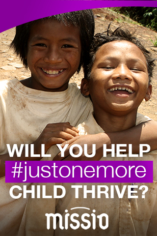 Will You Help #justonemore Child Thrive?