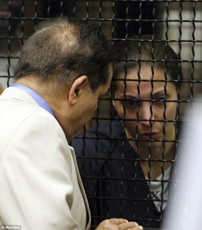 Saudi Arabian princess Meshael Alayban, 42, behind bars