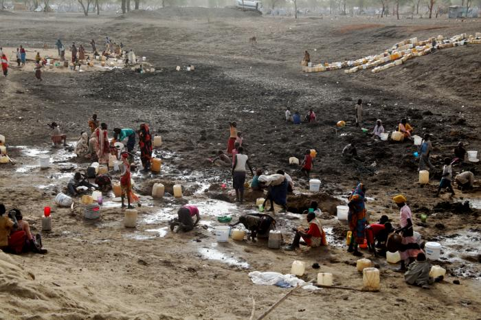 Sudanese Refugees Dying of Thirst