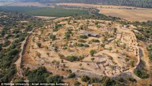 The site of what is thought to be the fortified Judean city of Shaarayim, where David is said to hav