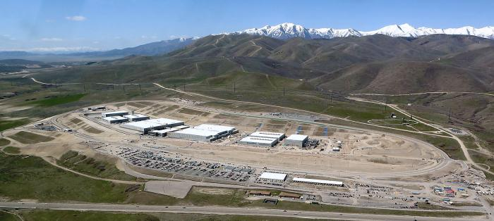 The entire purpose of the NSA Utah facility is to spy on our communications.