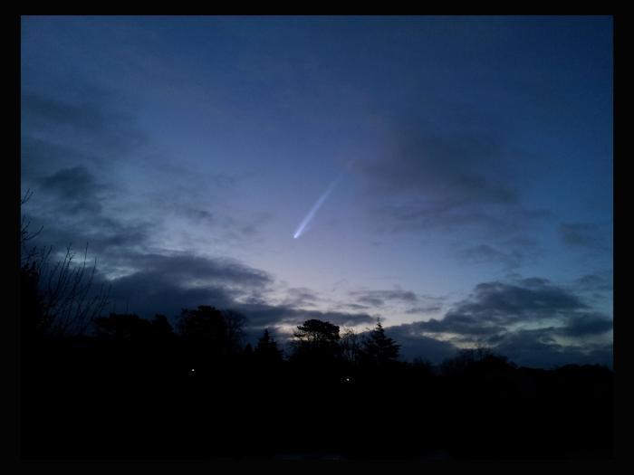 How Comet ISON may look in November.