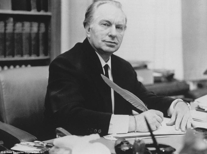 Lafayette Ronald Hubbard, better known as L. Ron Hubbard and often referred to by his initials, LRH,