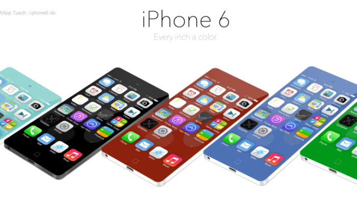 Concept art for the iPhone 6 suggests an even more dramatic change for 2014 is in the works.