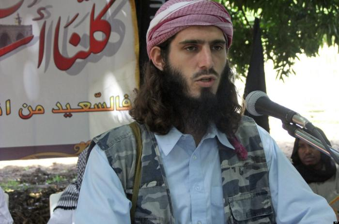 Omar Hammami, the American, was also killed in the terrorist ambush.