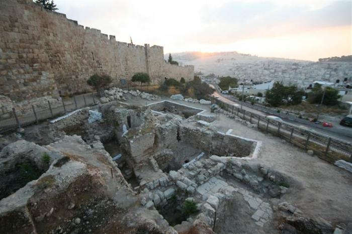 The ruins of what appears to be a high-status residence were dug up on Jerusalem
