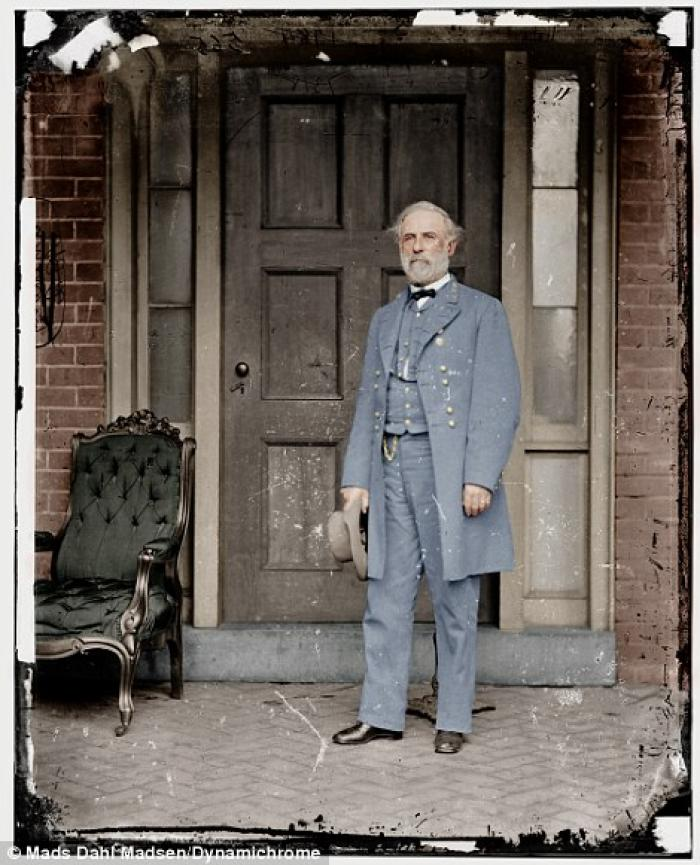 General Robert E. Lee, one of the most beloved commanders in American history. Lee freed his slaves