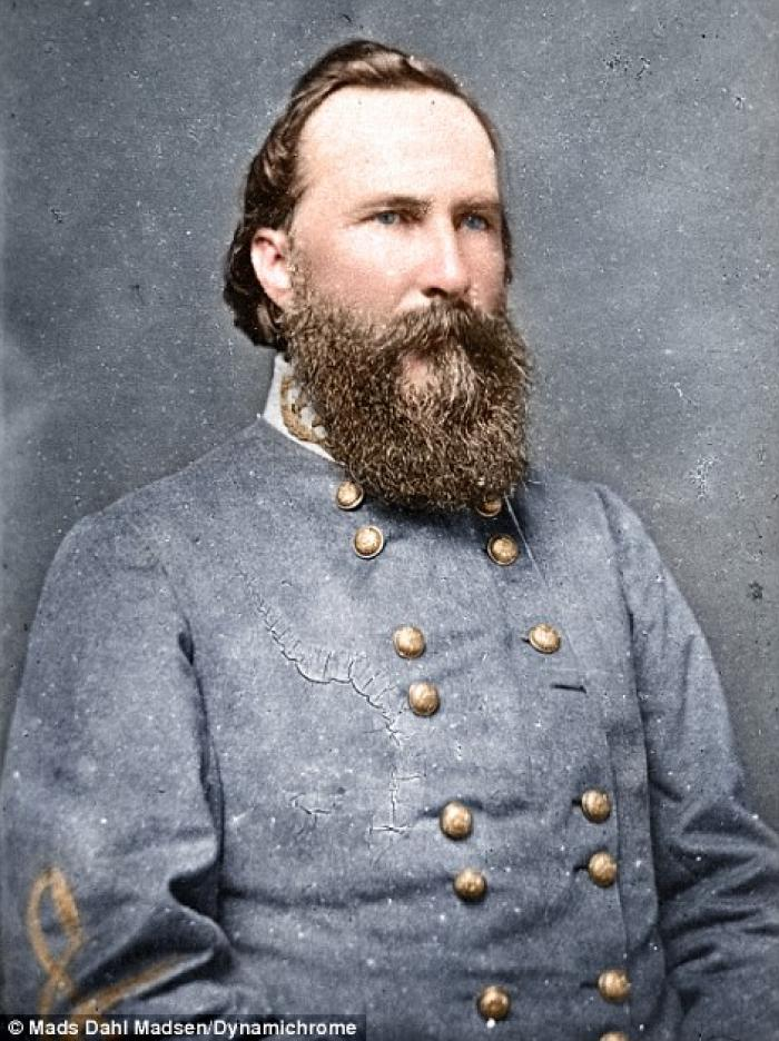 General Longstreet whose defensive talent led to the development of trench warfare. The end of the C