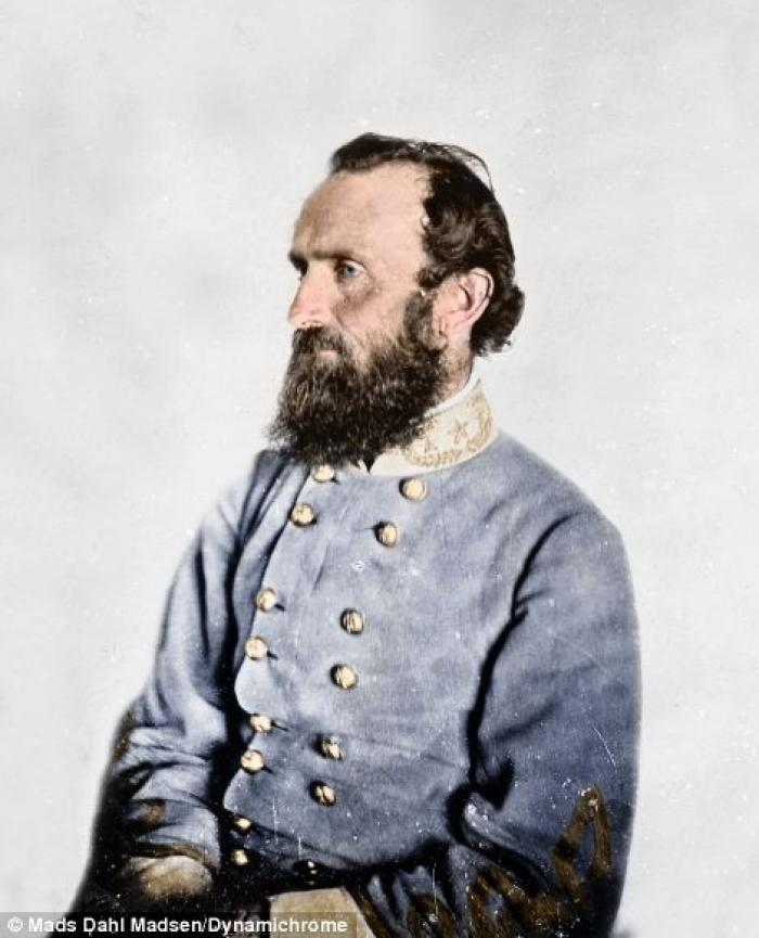 General Thomas Jackson. A religious Southern firebrand, he marched his men hard and fought harder. Y