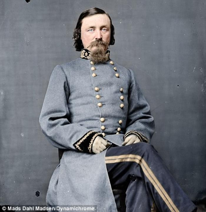 General George Pickett for whom Pickett