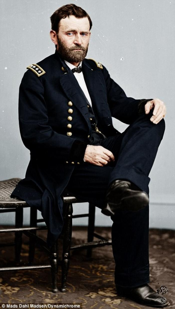 General Ulysses S. Grant is credited with bringing the Confederacy to its knees. By applying superio