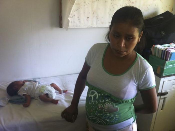 Irma Lopez and her son Salvador are doing fine, despite his traumatic birth.