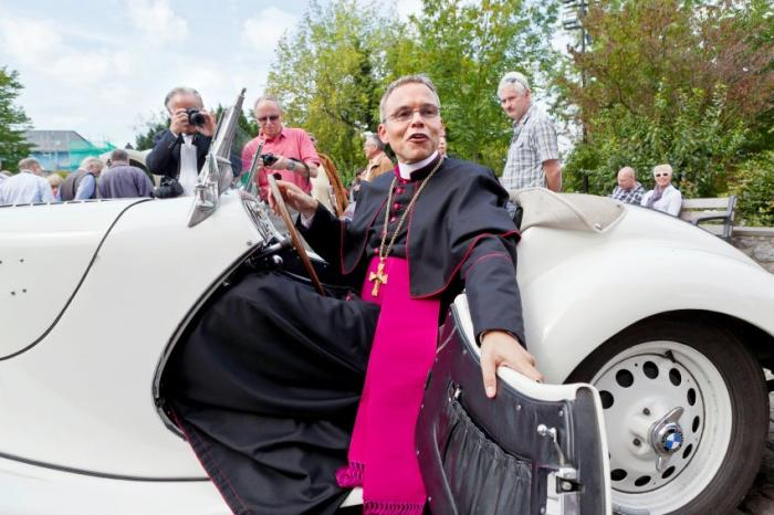 Bishop Franz-Peter Tebartz-van Elst is so famous he